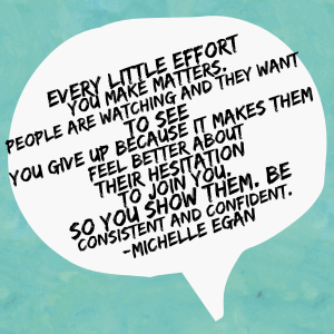 Michelle Egan - Paparazzi Jewelry Elite Leader quote