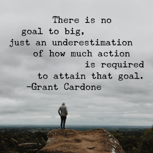 massive action quote by Grant Cardone