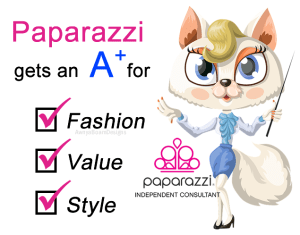 Paparazzi gets and A plus for fashion value and style