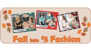 Fall into Fashion Facebook event or timeline cover image