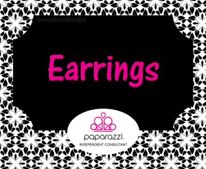 earrings black and white Paparazzi jewelry album cover