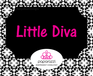 Little Dive Black and white Paparazzi jewelry album cover