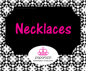 necklaces Black and white Paparazzi jewelry album cover