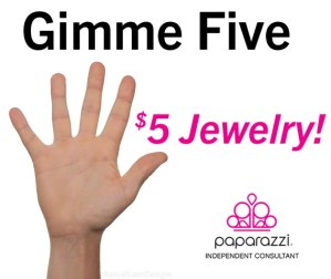Gimme Five - five dollar jewelry