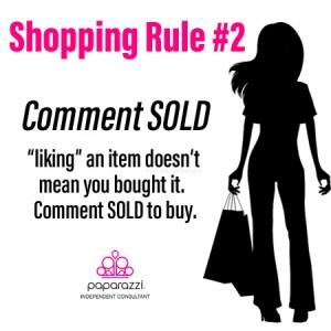 Paparazzi Jewelry Shopping Rule #3