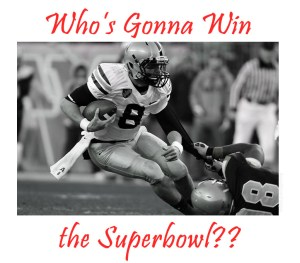 Superbowl graphic / game
