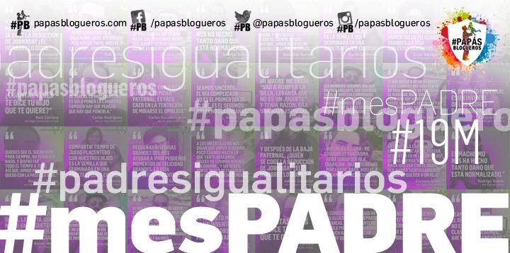 Cartel de la campaña #mesPADRE