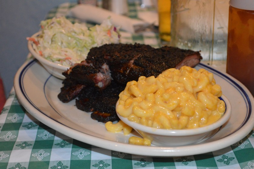 Boston en famille : restaurant de ribs
