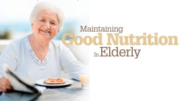 old age diet plan