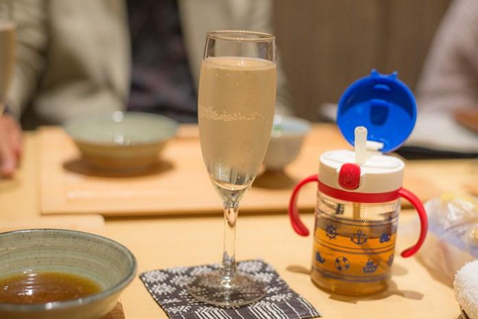 麻布 久徳 シャンパン