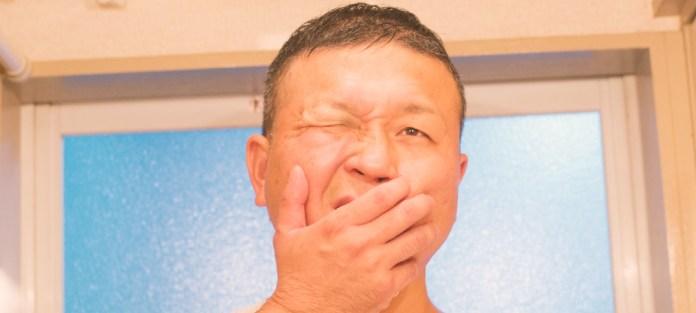 大人も感染! 息子(1歳)の手足口病が、父親にうつってしまいました。