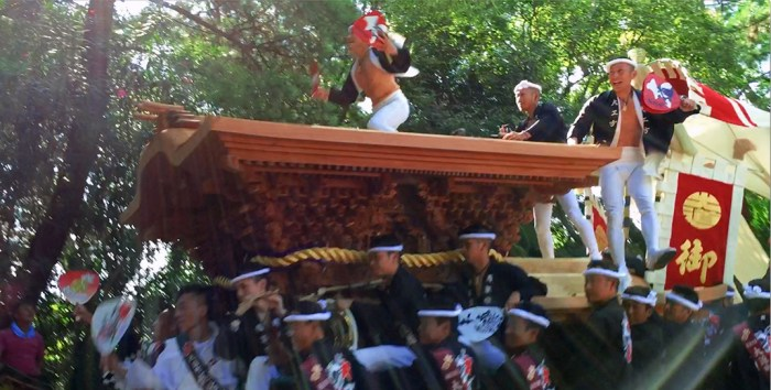歳の息子、はじめての岸和田だんじり祭り。大道町の皆さん、HOPE ROADさんに感謝!