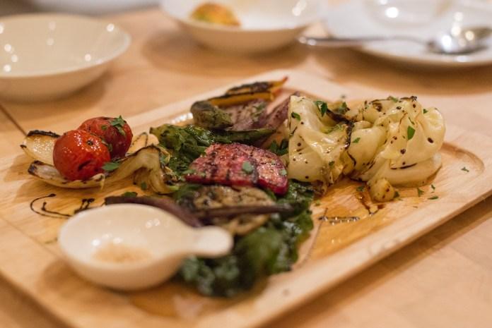 北海道野菜のグリル@ワイン食堂MATSU