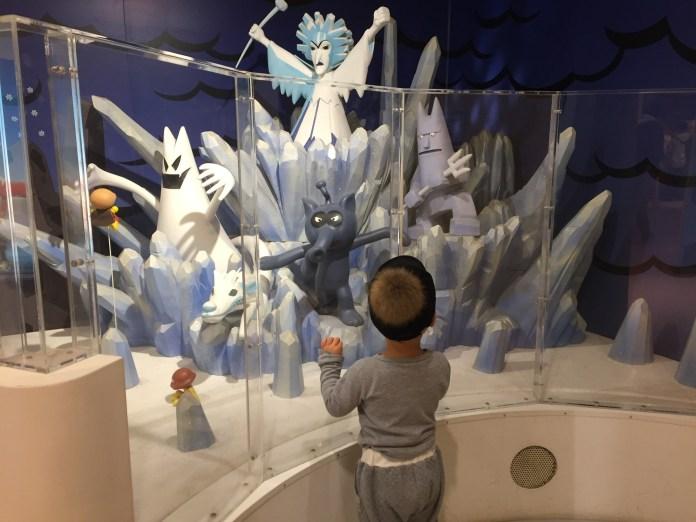 アンパンマンミュージアム横浜で遊ぶ鼓太郎(2歳7ヶ月)