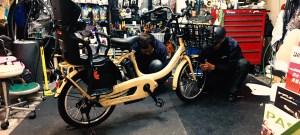電動アシスト自転車買いました、ヤマハ PAS Babby un。2歳11ヶ月で初めての自転車ふたり乗り