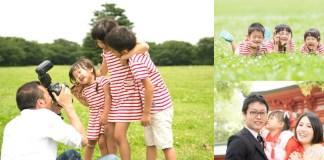お宮参りや七五三で自然な写真を撮ってもらえる、フォトグラファー出張撮影サービス「fotowa」。75枚で19,800円、1枚あたり264円!