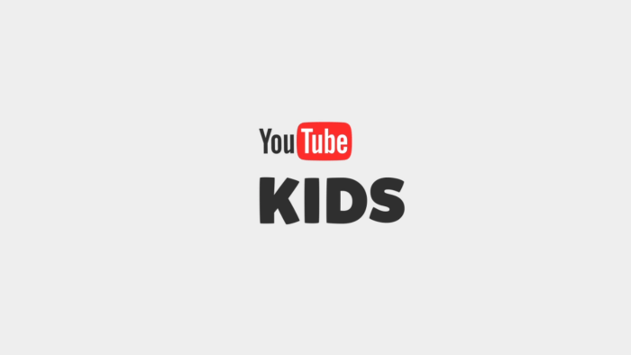 YouTube Kids 起動画面