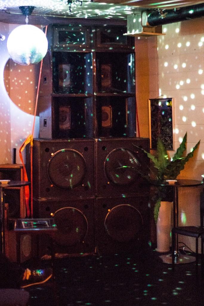 レゲエバー BUDY BYE(目黒区五本木)サウンドシステム・巨大スピーカー