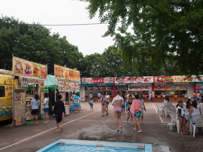 売店(昭和記念公園レインボープール)