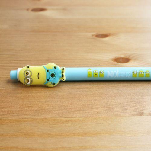 Bolígrafo Minion azul claro
