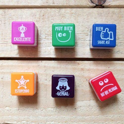 Pack de 6 sellos motivadores