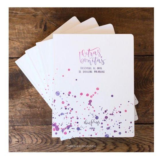 Libro de lettering Letras bonitas