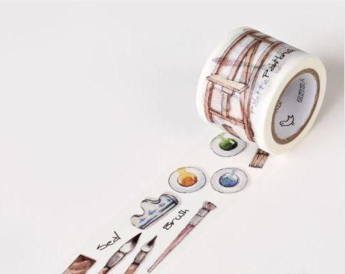 Washi tape pintura
