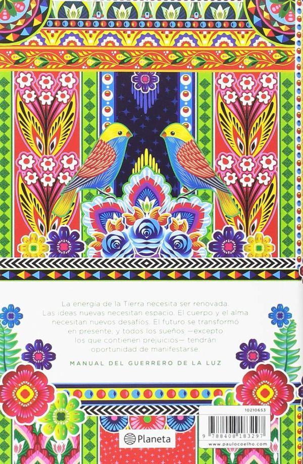 Agenda Paulo Coelho 2019 Caminos trasera