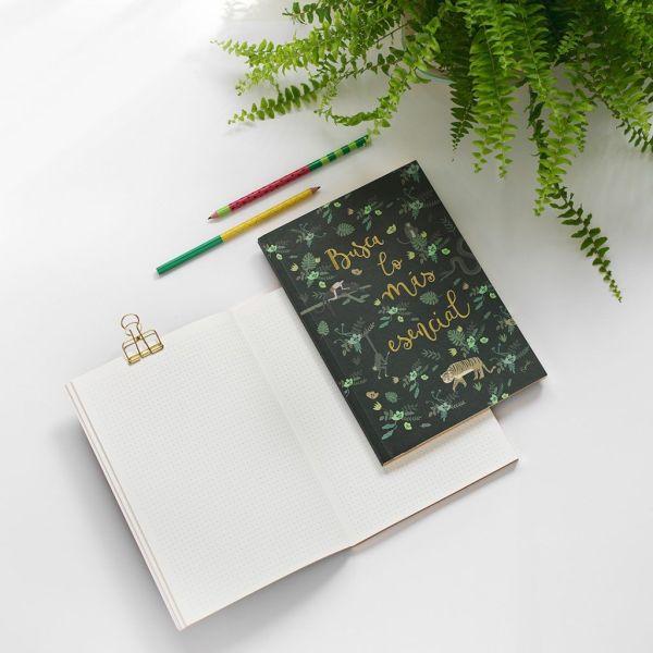Cuaderno libro selva