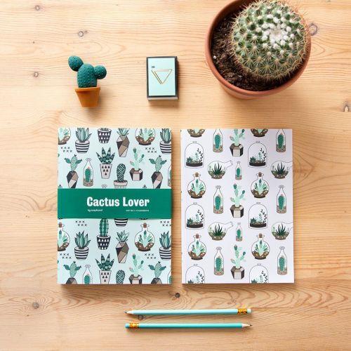 Cuadernos Cactus lover