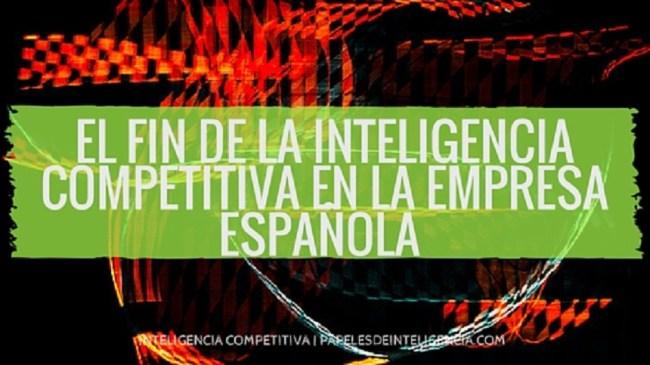 inteligencia competitiva en la empresa española