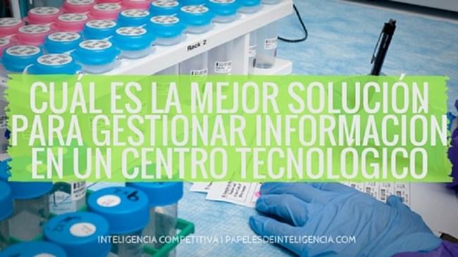 gestionar las fuentes de información