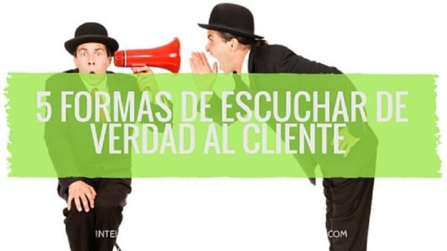 escuchar al cliente
