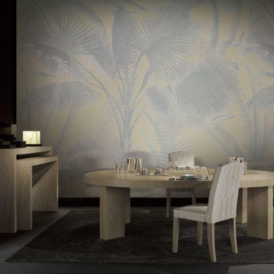 AIDA 9021 - Mural Aida 100% seda de la colección Armani Casa. Disponible en 3 colores