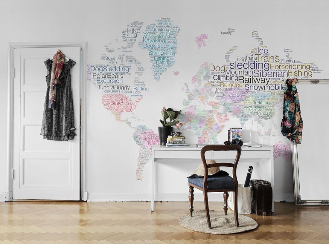 murales de mapas