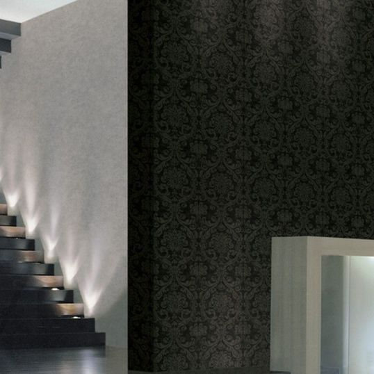 JV901 1 - Revestimiento mural Damasco Cuoio marrón de la colección J&V 901Ref. 04-4574