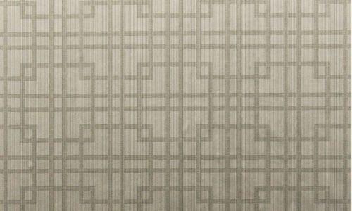 br3085GR - Revestimiento mural geométrico color Visón de la colección Brocades Ref. BR3085