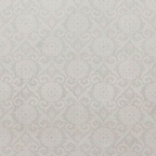 br5066GR - Revestimiento mural adamascado color blanco de la colección Brocades Ref. BR5066