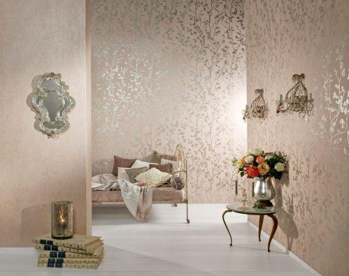 22837 Palazzo 9 - Revestimiento mural liso nacarado de la colección Palazzo. Disponible en 2 colores
