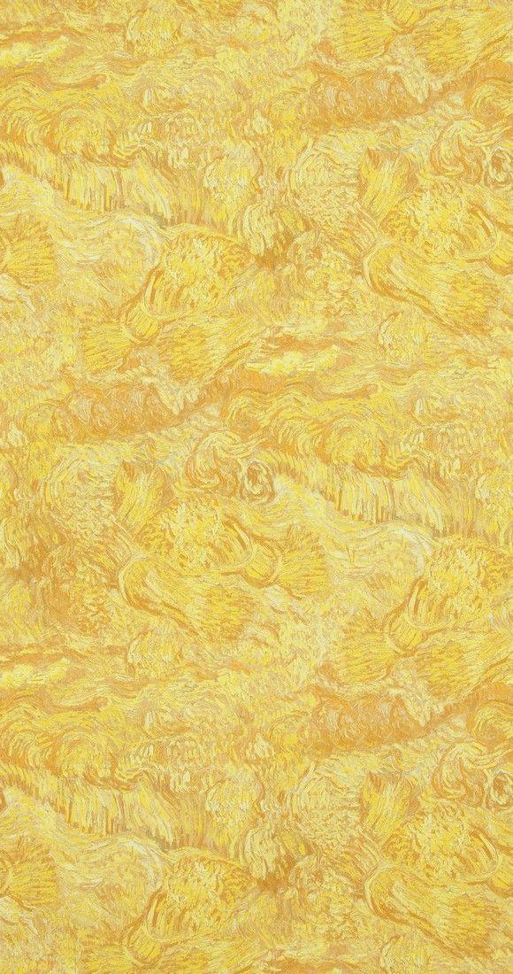 Papel pintado campos de trigo del cat logo van gogh for Catalogos de papel pintado