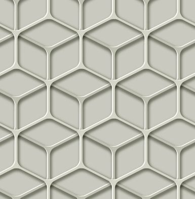 Papel pintado geométrico telaraña 3D ref. TD30810
