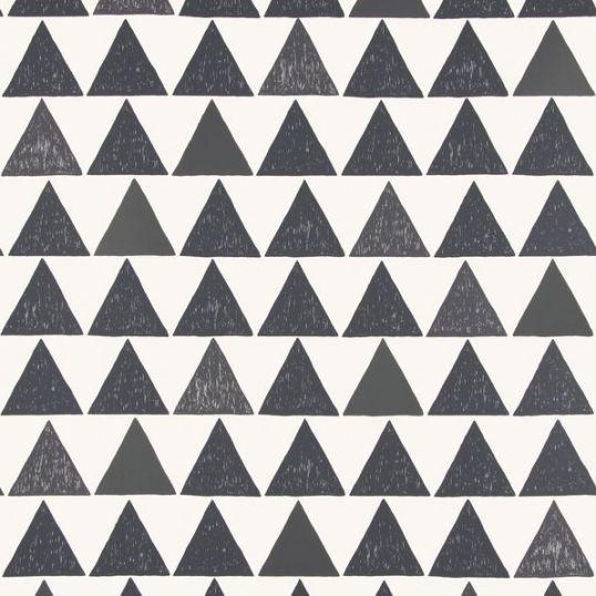 Papel pintado triángulos 588-91 de Sandberg