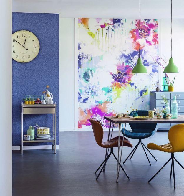 colores papel pintado primavera 2017 - Home