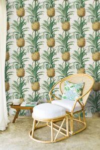 Papel pintado de piñas WP20090 - Ananas ambiente