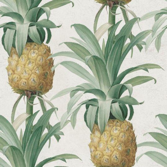 Papel pintado de piñas WP20090 - Ananas
