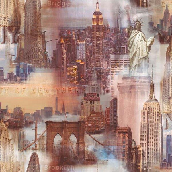 Papel pintado new york 2722 del catalogo journey papel - Papel pintado nueva york ...