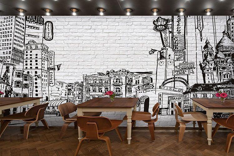 papel pintado negocios1 - 10 Papeles de pared de lujo para poner el toque chic a tu negocio