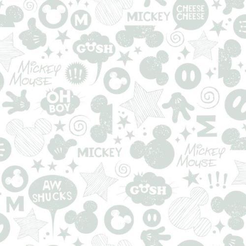 Papel decorativo infantil plata DS7812