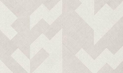 Papel pintado de saco beige y gris 46501 del catálogo Insero de Arte