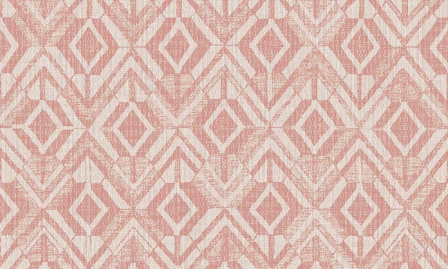 Papel pintado metlizado Geo de Arte 47523 rosa
